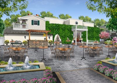 Outdoor Cocktail Area - Coming August 2019